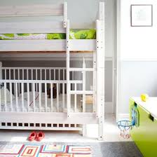 Bunk Bed Cribs Bunk Bed With Crib On Bottom Best 25 Bunk Bed Crib Ideas On