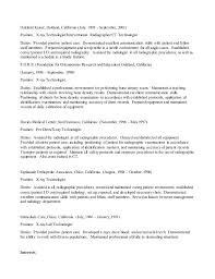 Sample Cto Resume by Ct Resume Resume Cv Cover Letter