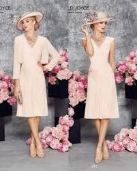 mothers of the bride dress light pink lace stain mother groom
