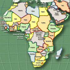 the map of africa is the u s attacking muslim countries in africa middle east