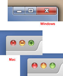 close window x button definition from pc magazine encyclopedia
