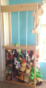 How To Build A Wooden Toy Box by Stuffed Animal Storage Tutorial We Built The Zoo Youtube
