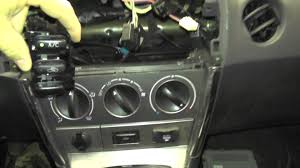 2004 toyota matrix hvac controls youtube