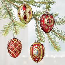 buy 4 russian egg ornaments from museum selection