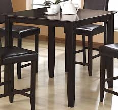 black counter height table set wylie counter height dining room set with black chairs counter