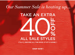 deal of the day 40 all sale items at loft cafemom