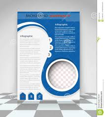 design flyer blue flyer design stock vector image 54624136