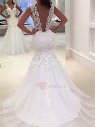 cheap wedding dresses uk only lace mermaid trumpet wedding dresses cheap online tidebuy