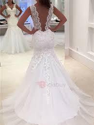 trumpet wedding dresses lace mermaid trumpet wedding dresses cheap online tidebuy