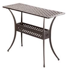 Outdoor Console Table Alfresco Cast Aluminum Outdoor Sideboard Console Table Console