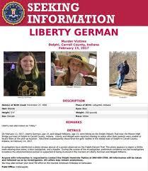 Seeking Poster Delphi Indiana Fbi Posters Seek Information On Delphi Murders