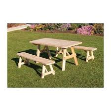 Diy Small Round Wood Park Picnic Table With Detached Octagon Bench by 24 Best Amish Picnic Tables Images On Pinterest Picnics