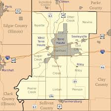 Map Indiana File Map Of Vigo County Indiana Svg Wikimedia Commons