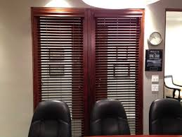 dark wood stained blinds jpg