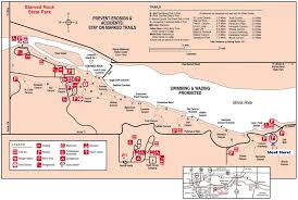 Illinois State Parks Map by Let U0027s Take A Hike Matthiessen State Park Starved Rock Illinois