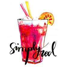 cocktail illustration virginia romo illustration