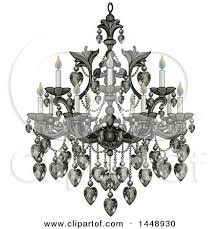 Black Chandelier Clip Art Royalty Free Rf Chandelier Clipart Illustrations Vector
