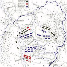 map of poitiers battle of wilhelmstahl seven years war