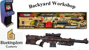 bluekingdom backyard workshop how to make a nerf dart gun look