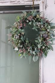 25 unique green wreath ideas on greenery wreath from