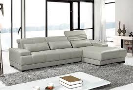 Polaris Sofa Enchanting Italian Leather Sectional Sofa With Vig Furniture