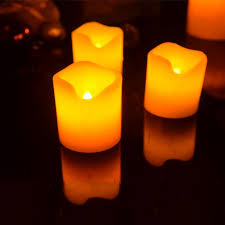 aliexpress buy 5pcs 5 3cm 5cm real wax electric led candle