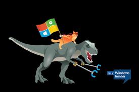 T Rex Unstoppable Meme - microsoft s windows ninja cat now rides a tyrannosaurus rex in