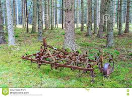 harrow in woods stock image image of tool countryside 71801919