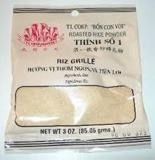 poudre de riz cuisine riz grillé open mag
