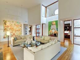 the home interiors how to decorate interiors with high ceilings tall wall decorating