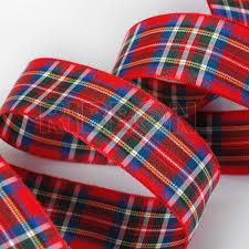 tartan ribbon wholesale royal stewart tartan ribbon 100m roll