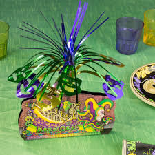 mardi gras centerpieces table decor mardigrasoutlet