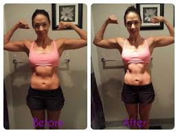After Challenge Paleo Challenge Wrap Up Before After Pics The Happy Health Freak