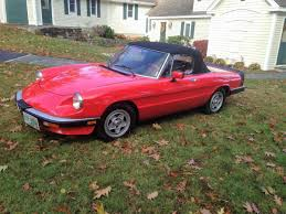 1983 alfa romeo spider for sale 1960093 hemmings motor news