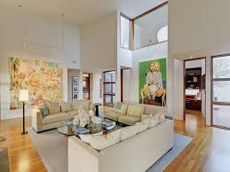how to decorate interiors with high ceilings freshome com