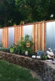 Inexpensive Backyard Ideas Simple Backyard Privacy Fence Ideas On A Budget 18 Backyard