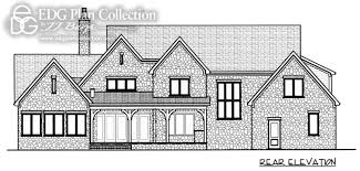 English Manor House Plans 4 Beds Edg Plan Collection