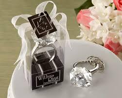 keychain wedding favors diamond rhinestone wedding favors keychain