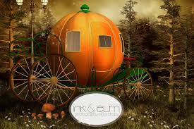 pumpkin carriage photography backdrop magic pumpkin carriage