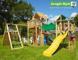 outdoor climbing frame fun wooden outdoor playset jungle gym
