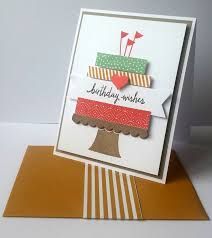 152 best stampin up build a birthday images on pinterest