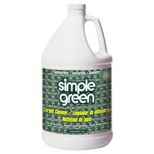 Rug Doctor Vinegar Simple Green 1 Gal Carpet Cleaner 0500000115128 The Home Depot