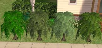 mod the sims small willow tree