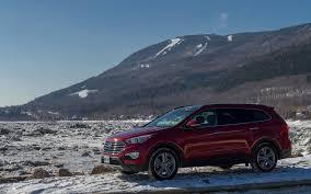 2015 hyundai santa fe xl a test drive in my snowy backyard