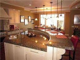 curved kitchen island designs best 25 curved kitchen island ideas on intended for