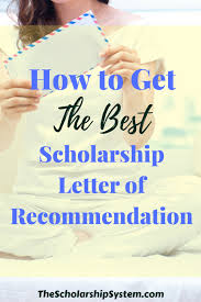 everything you need to know about the scholarship letter of