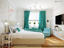 Double Curtain Rod Interior Design by Home Accessories Contemporary Bedroom Design With Bed Linens And