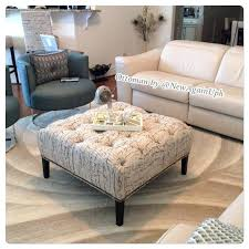 Grey Ottoman Coffee Table Grey Ottoman Coffee Table For Large Room Medium Size Of