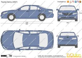the blueprints com vector drawing toyota camry