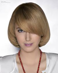 under bob hairstyle mid length hair curved under for a neat youthful and rounded look